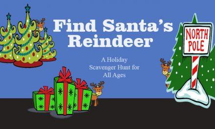 Find Santas Reindeer Scavenger Hunt