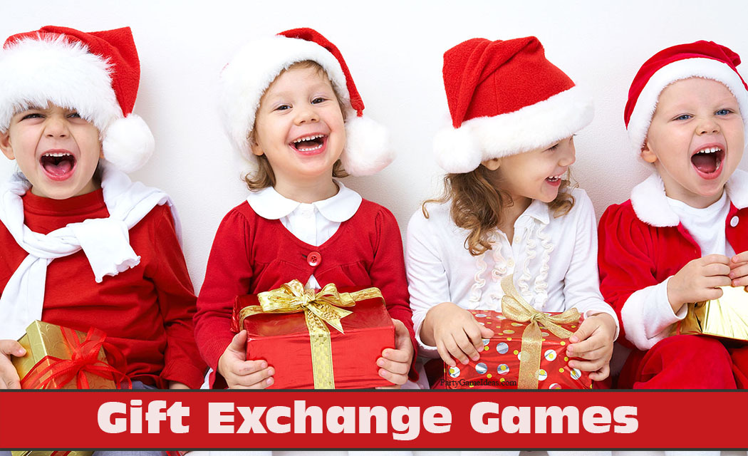 2017 Bowl Games Printable >> Gift Exchange - Holiday Christmas Party Gift Grabs