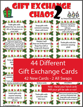 Gift Exchange Chaos 2 - Christmas Party Games