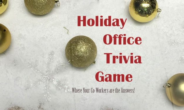 Holiday Office Trivia Game