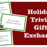 Trivia Gift Exchange