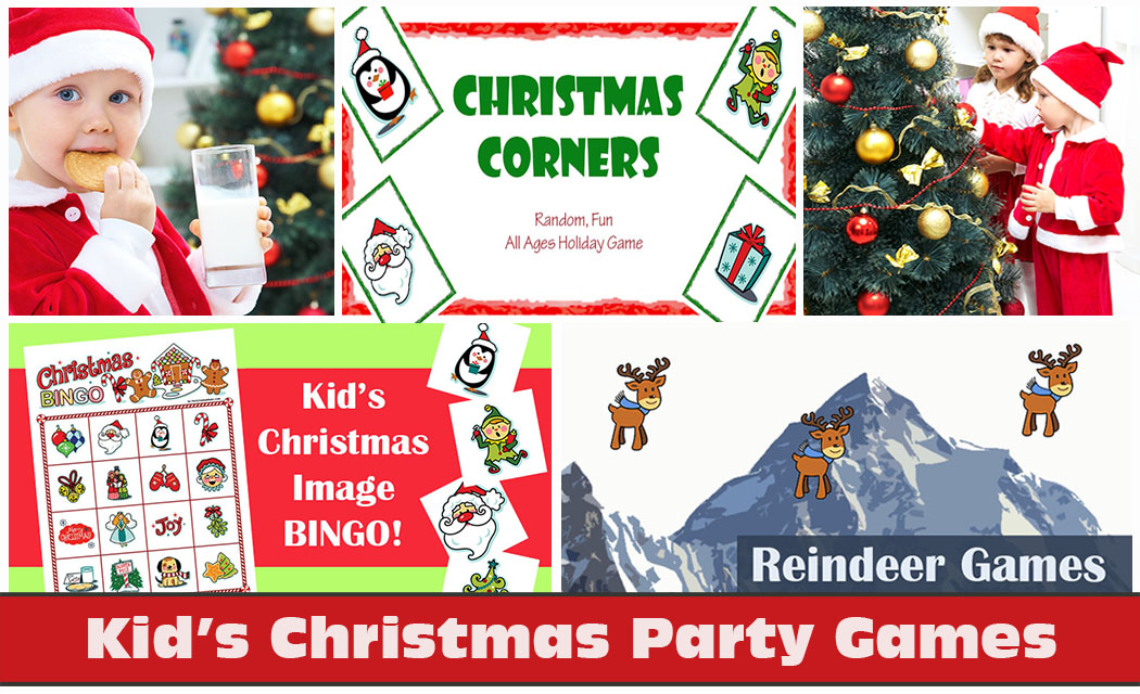 Kids Christmas Games, Holiday Party Game Ideas
