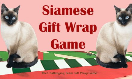 Siamese Gift Wrap Game