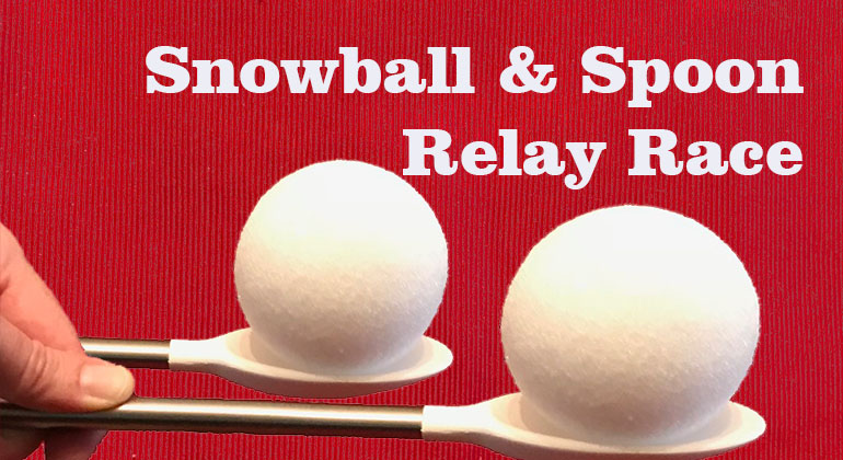 snowball and spoon relay race kids christmas party game bachelorette party clipart free bachelorette party printables clipart
