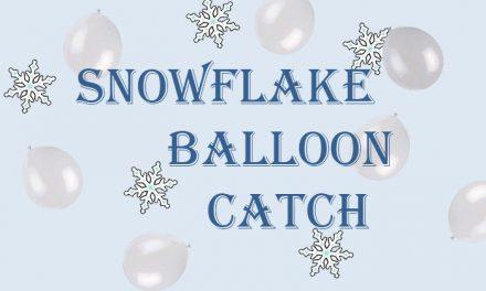 Snowflake Balloon Catch