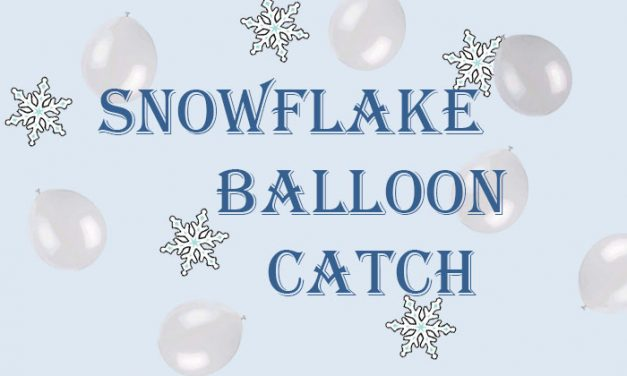Snowflake Balloon Catch