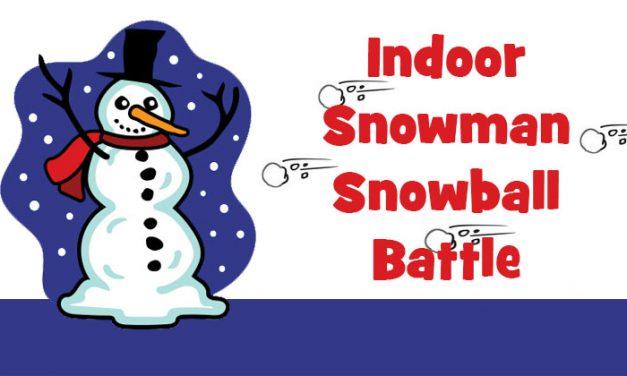 Snowman Snowball Battle