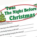 Twas the Night Before Christmas Game