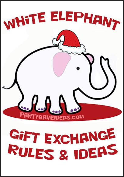 White Elephant Gift Exchange RulesSAve