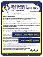 Hezekiah and The Three Wise Men Left Right Story