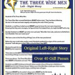 Three Wise Men Left Right Gift Passing Story