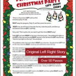 Penguin Christmas Party Left Right Story Gift Exchange