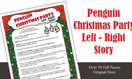 Penguin Christmas Party Left Right Game