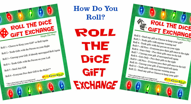 Roll the dice gift exchange games roll the dice gift exchange negle