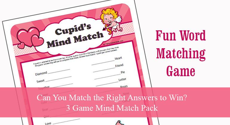 Cupids Mind Match