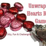 Valentines Unwrap the Heart Relay Game