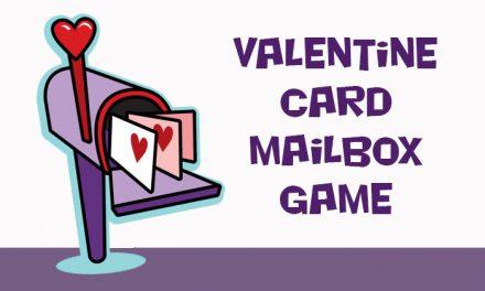 Valentine Card Mailbox Game