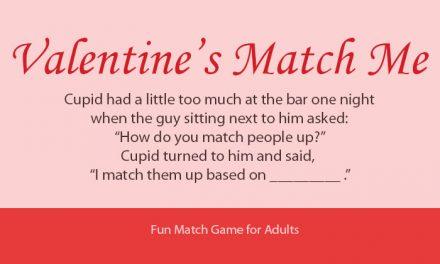 Valentines Day Match Me