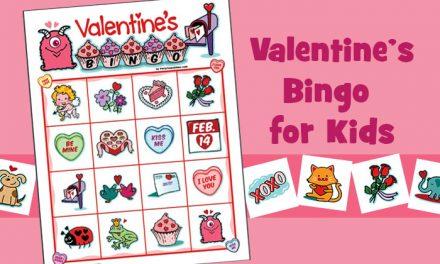 Valentine Bingo for Kids