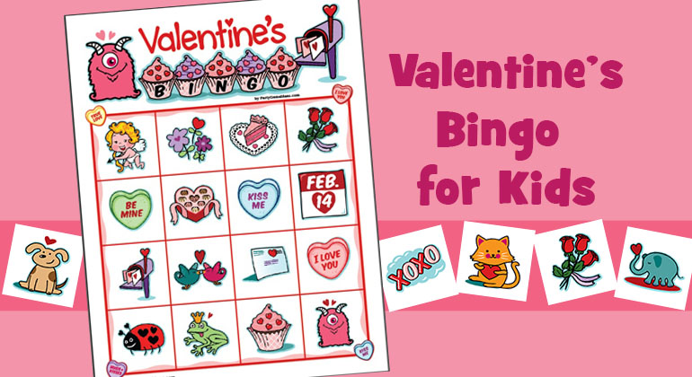 Valentine Bingo for Kids