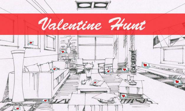 Valentine Card Hunt