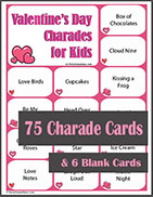 Printable Valentine's Day Charades for Kids