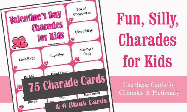 Valentines Day Charades for Kids