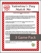 Valentine's Day Match Me Game