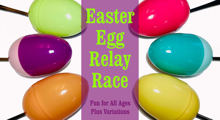 Easter Egg Relay Races
