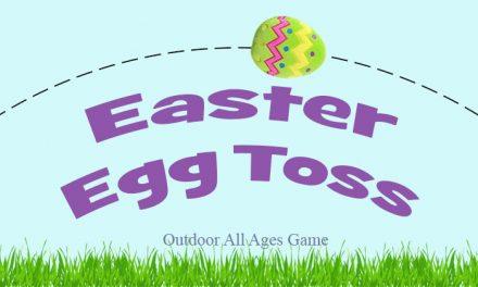 Easter Egg Toss