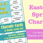 Easter and Spring Charades