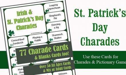 St Patricks Day Charades
