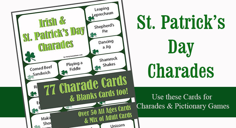 St Patricks Day Charades