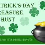 St. Patricks Day Treasure Hunt Game