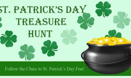 St. Patricks Day Treasure Hunt Game