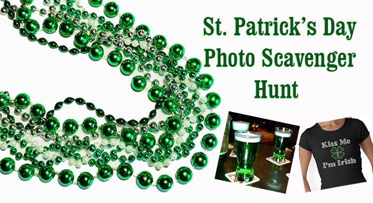 St Patricks Day Photo Scavenger Hunt