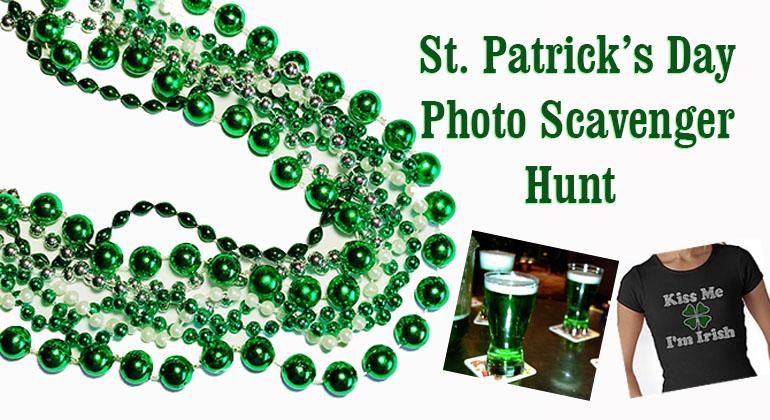 St Patricks Day Photo Scavenger Hunt
