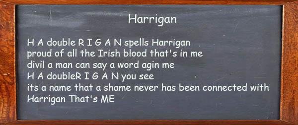 Harrign