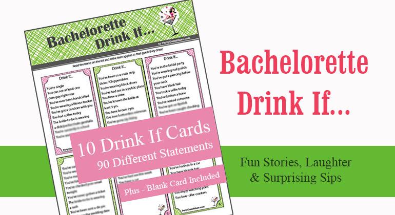 Bachelorette Drink If