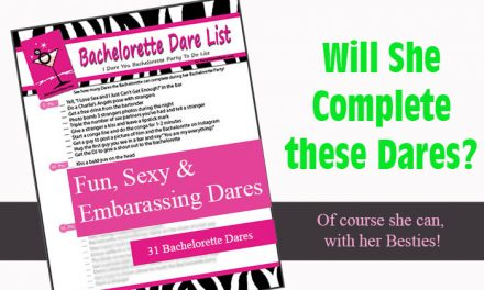 Bachelorette Dare List