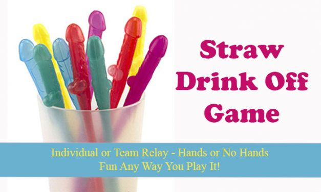 Pecker Straw Drink Off