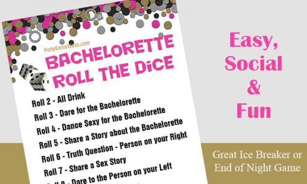 Bachelorette Roll the Dice