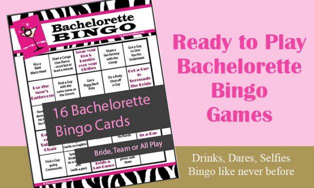 Bachelorette Bingo Cards