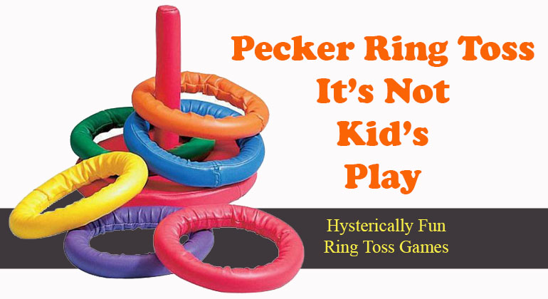 Bachelorette Pecker Ring Toss