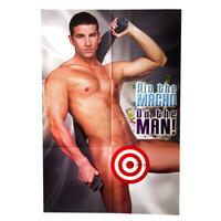 Pin the Macho on the Man - Bachelorette Party Game