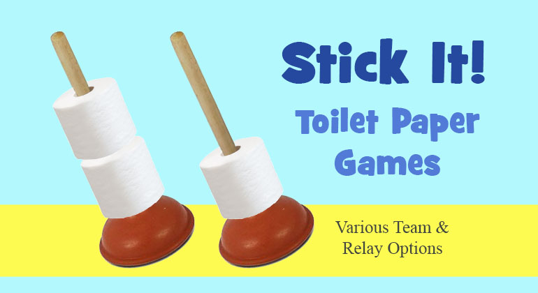 Stick It – Men's Private Parts Relay Game