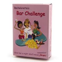 Bar Challenge Bachelorette Game