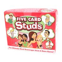 Five Card Studs Bachelorette Bar Game