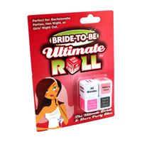 Bride to Be Ultimate Roll Dice Game