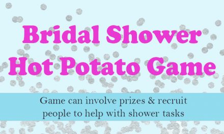 Bridal Shower Hot Potato Game
